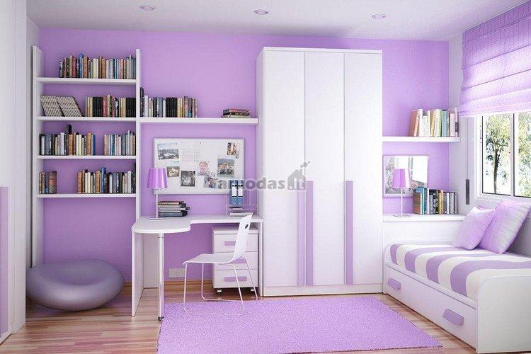 Kompaktiškas kambario dizainas