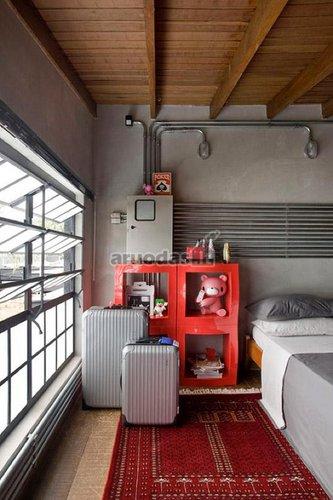 Vaikų kambarys eklektišku stiliumi
