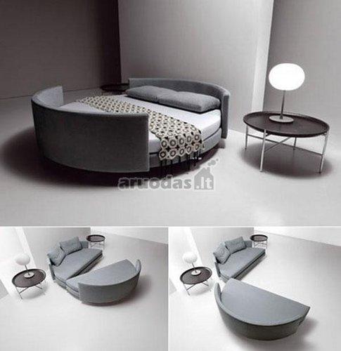 Originalios konstrukcijos lova