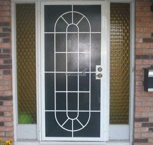 Stiklinės lauko durys