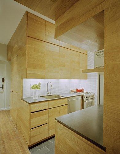Nedidelės virtuvės interjeras