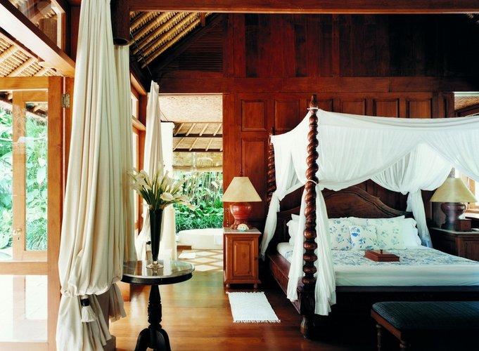 Prabangaus miegamojo interjeras