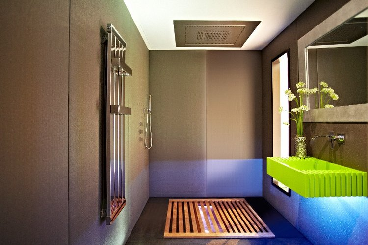 Japoniško stiliaus vonios kambarys