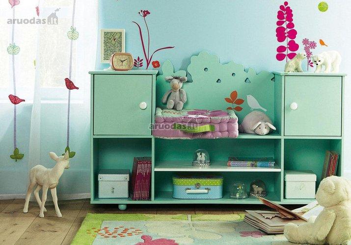 žaidimų zona vaiko kambaryje