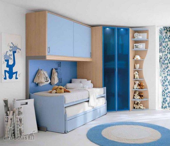 Modernus berniukų kambarys