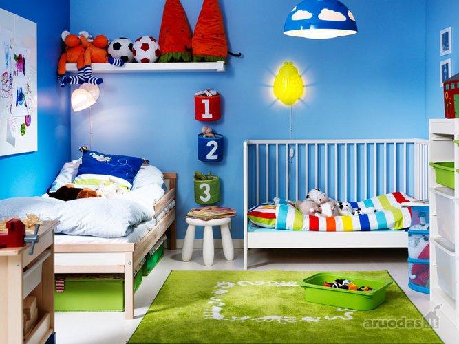 Ryškus berniuko kambarys