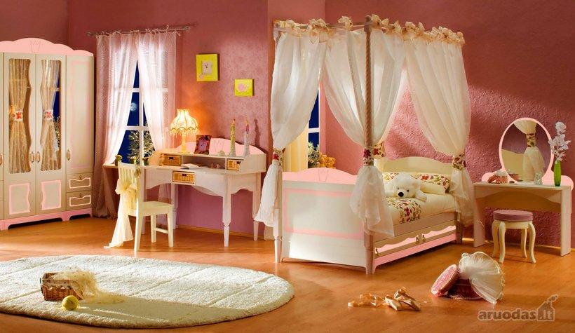 Princesės kambario interjeras