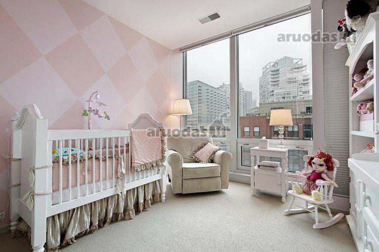 Elektiškas stilius mažylio kambaryje