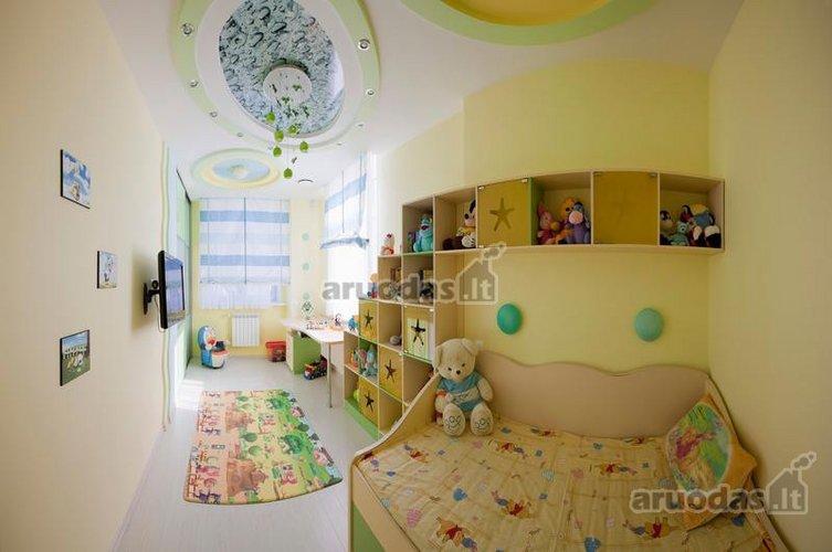 Pailgo vaikų kambario interjeras