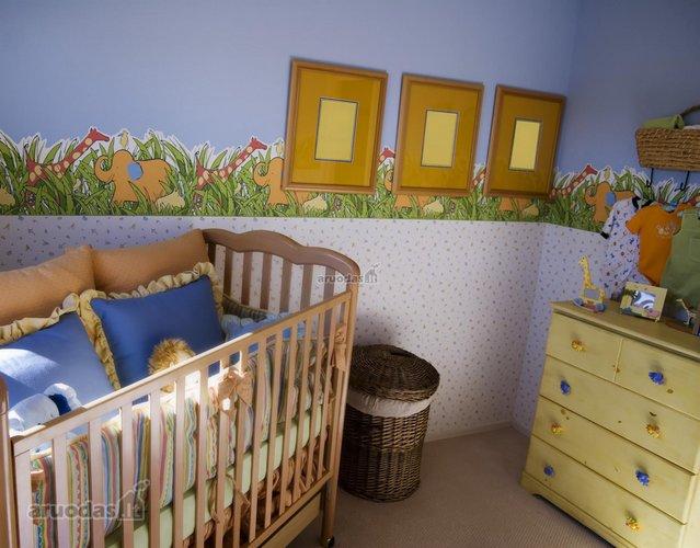 Originalus sienos dekoras