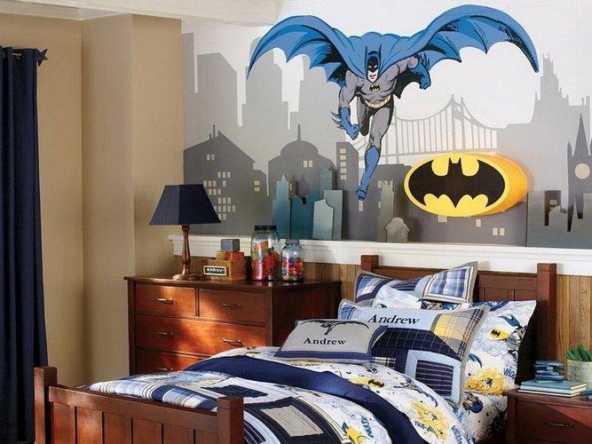 Superherojaus kambarys