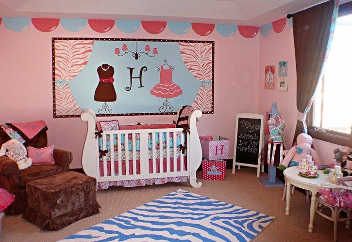 Unikalios dekoracijos vaikų kambaryje