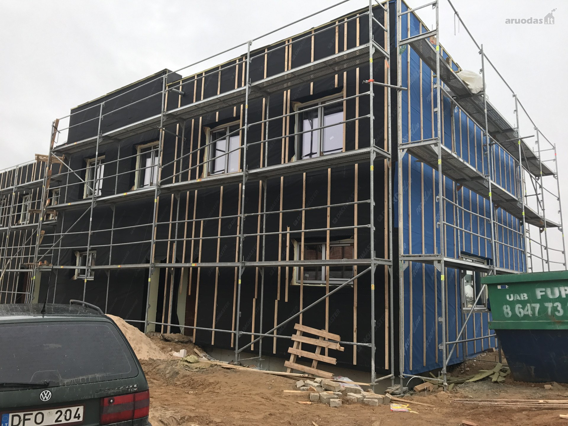 House In Vilnius Pilait Smlio G Brick Blocked House
