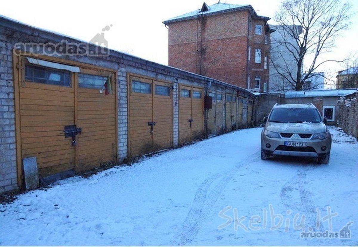 Kaunas, Centras, Kęstučio g., mūrinis garažas