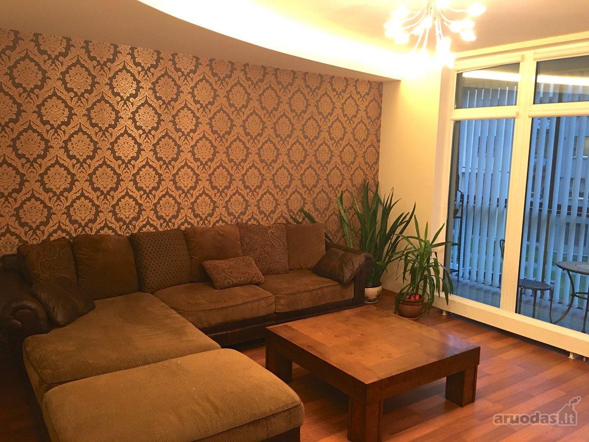 Vilnius, Šnipiškės, Linkmenų g., 2 kambarių buto nuoma