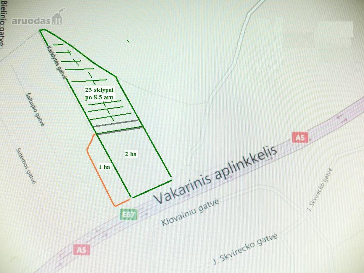 Kaunas, Šilainiai, L. Truikio g., namų valdos paskirties sklypas