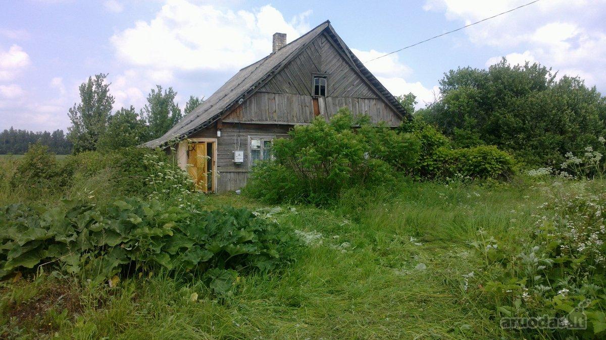 Širvintų r. sav., Liuliškių k., rąstinis namas