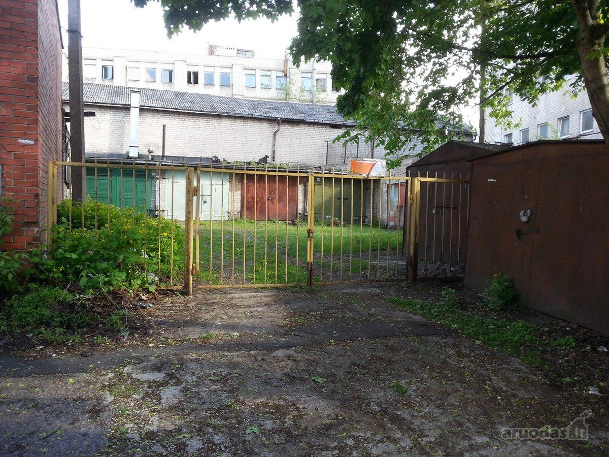 Kaunas, Centras, Šiaulių g., mūrinis garažas