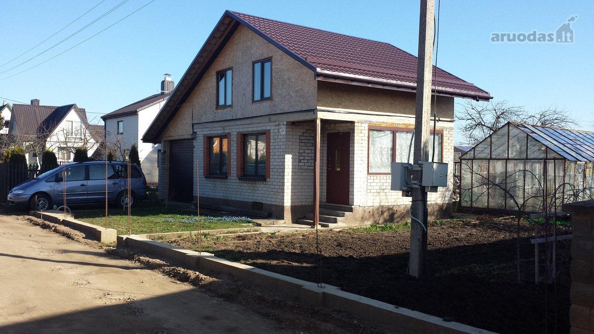 Jonavos m., Naujakurių g., mūrinis sodo namas