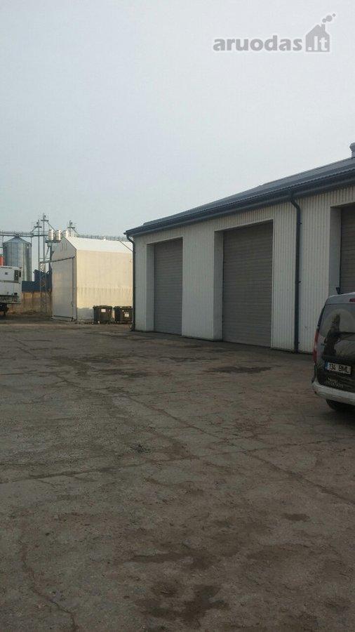 Šiauliai, Pabaliai, Metalistų g., biuro, sandėliavimo, gamybinės paskirties patalpos nuomai