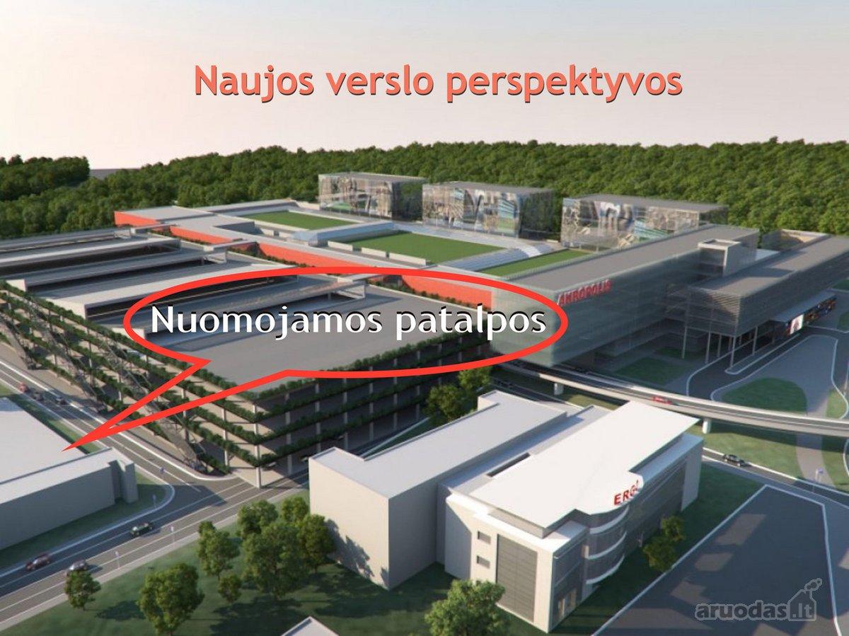 Vilnius, Naujamiestis, Geležinio Vilko g., biuro, prekybinės, paslaugų, sandėliavimo, gamybinės, maitinimo, kita paskirties patalpos nuomai