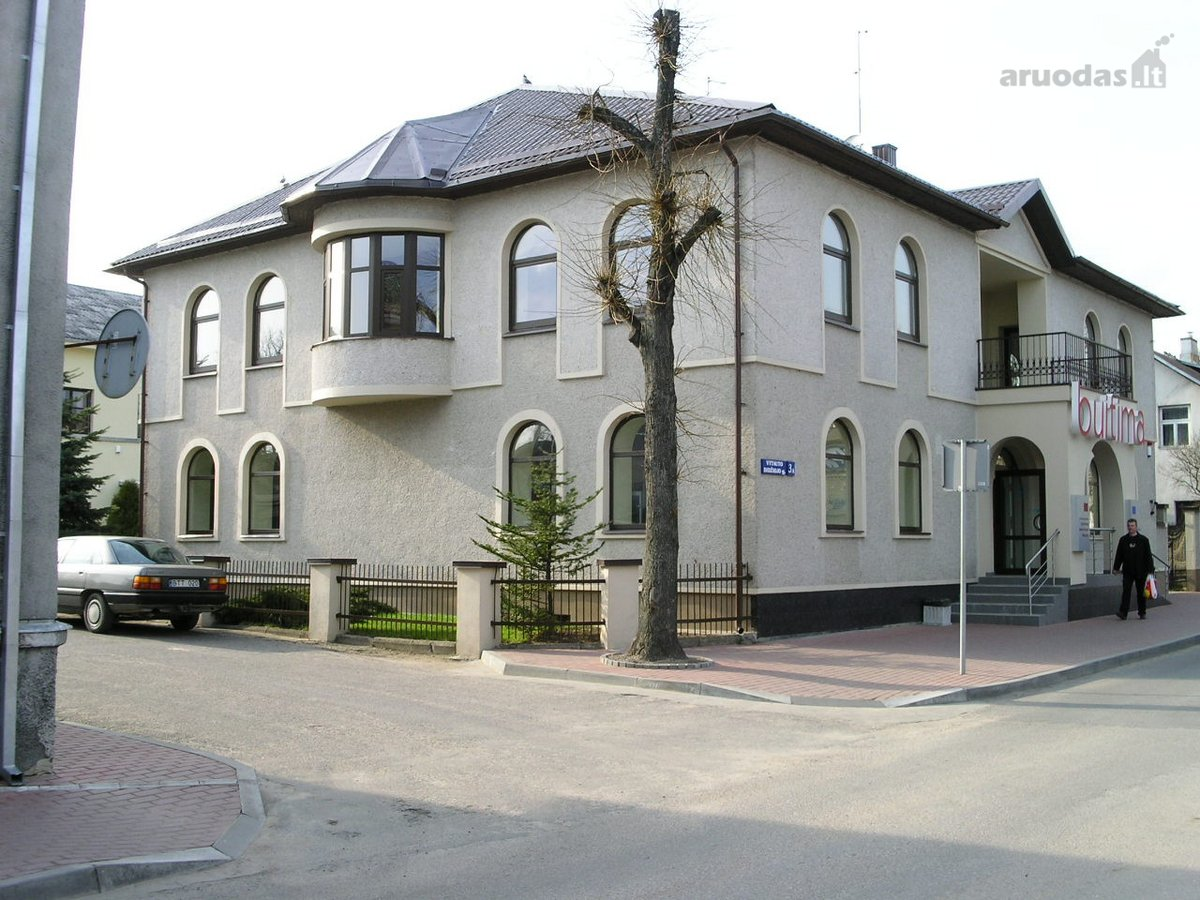 Jurbarko r. sav., Jurbarko m., Vytauto Didžiojo g., mūrinis namas