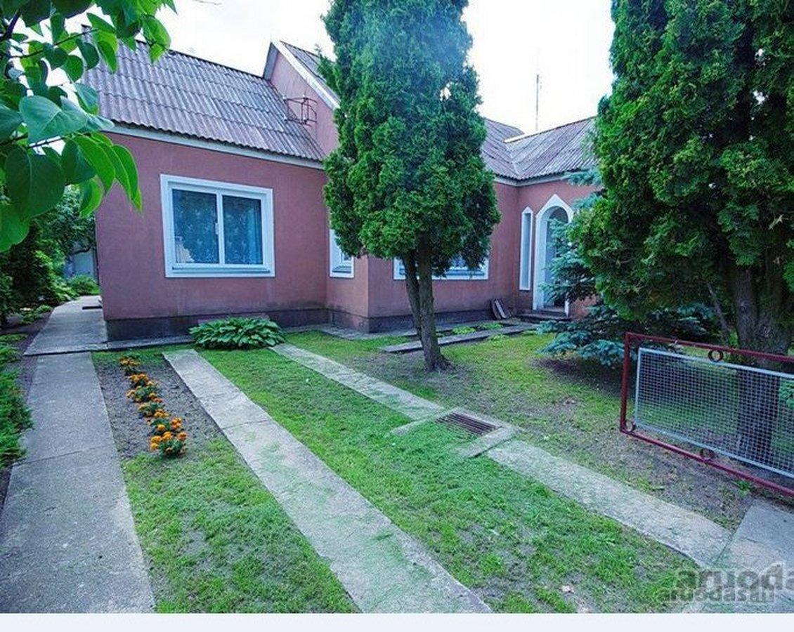 Švenčionių m., Miško g., mūrinis namas