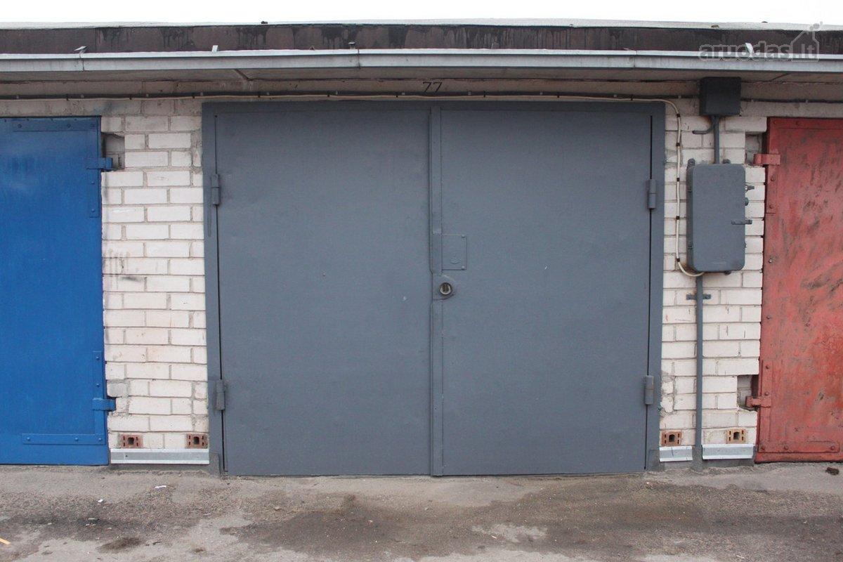 Kaunas, Kalniečiai, Šiaurės pr., mūrinis garažas