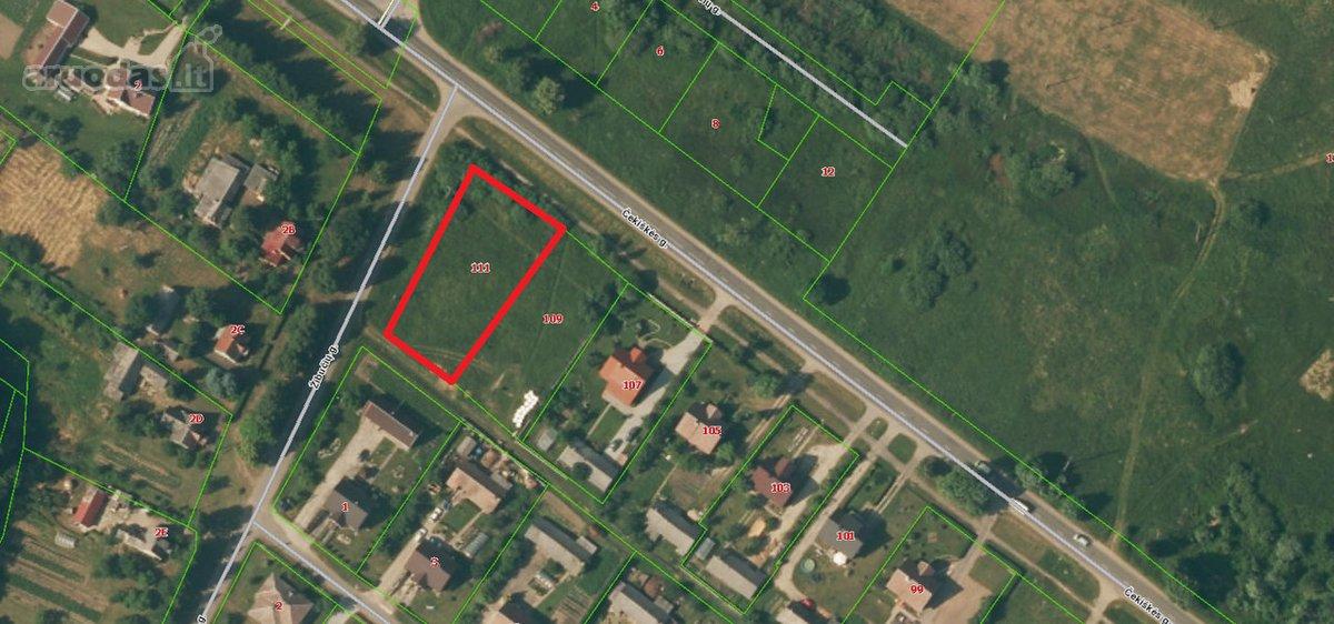 Kauno r. sav., Vilkijos m., Čekiškės g., residential, other purpose vacant land