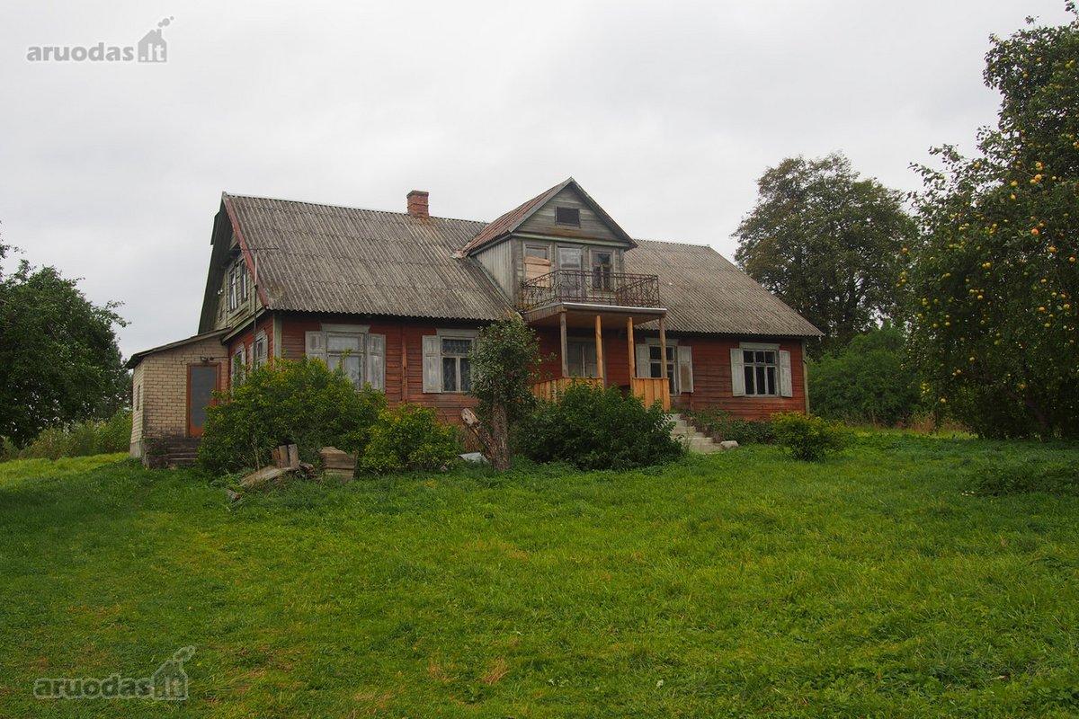 Anykščių r. sav., Peniankų k., medinis namas