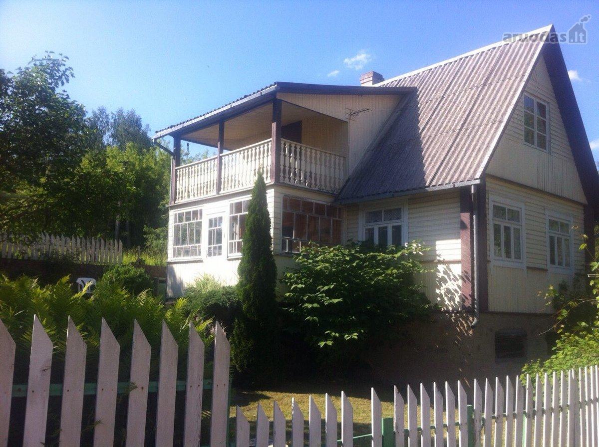 Trakų r. sav., Valų k., rąstinis namas
