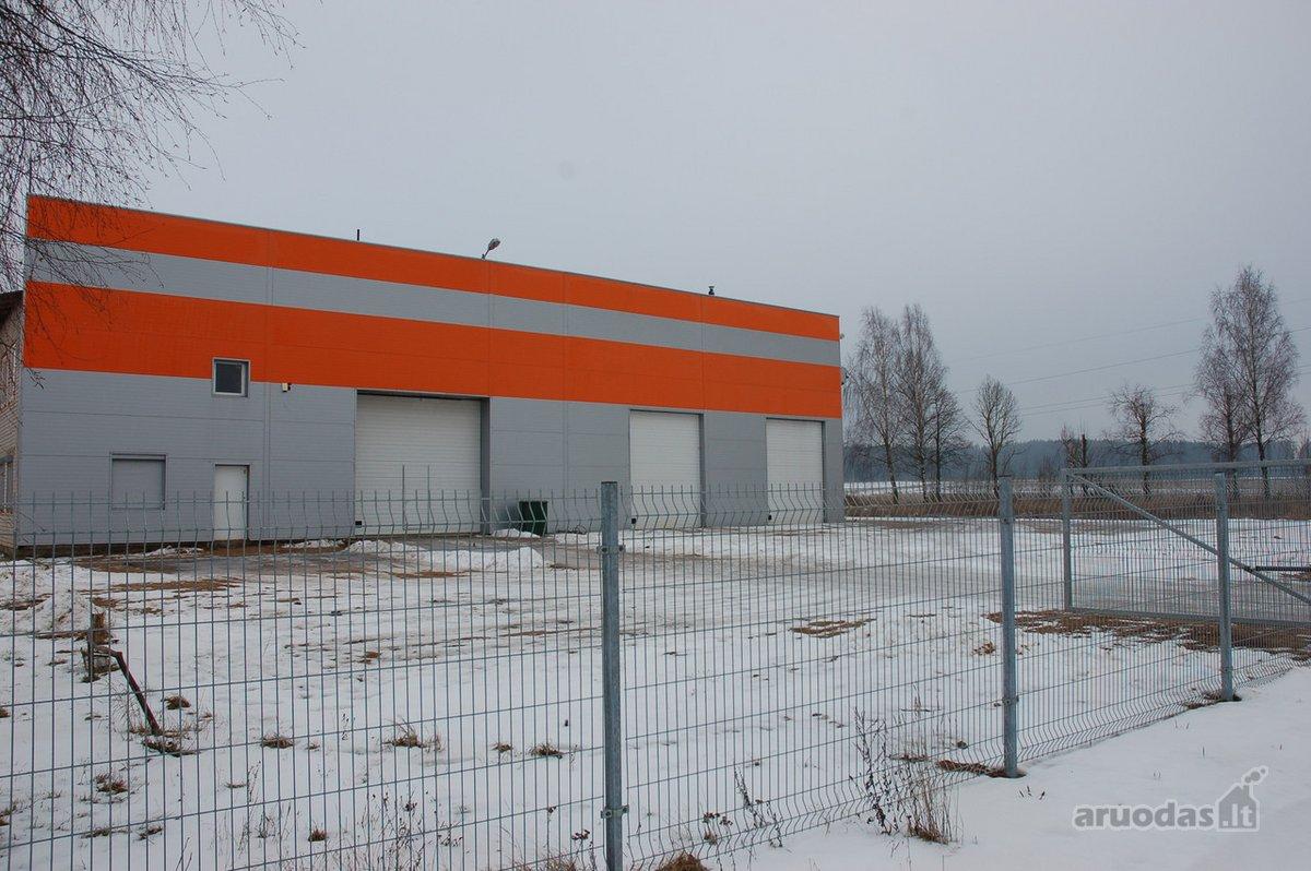 Vilniaus r. sav., Kenos k., Miško g., sandėliavimo, gamybinės paskirties patalpos nuomai