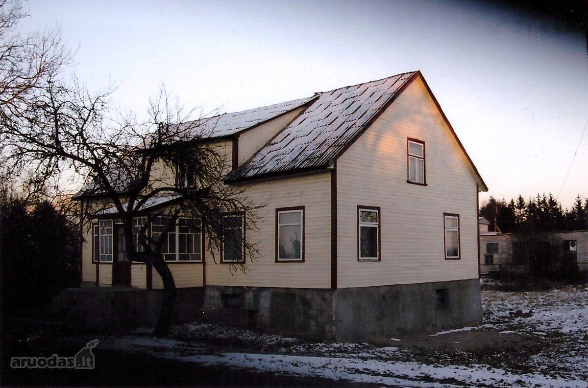 Skuodo r. sav., Mosėdžio mstl., Salantų g., medinis namas