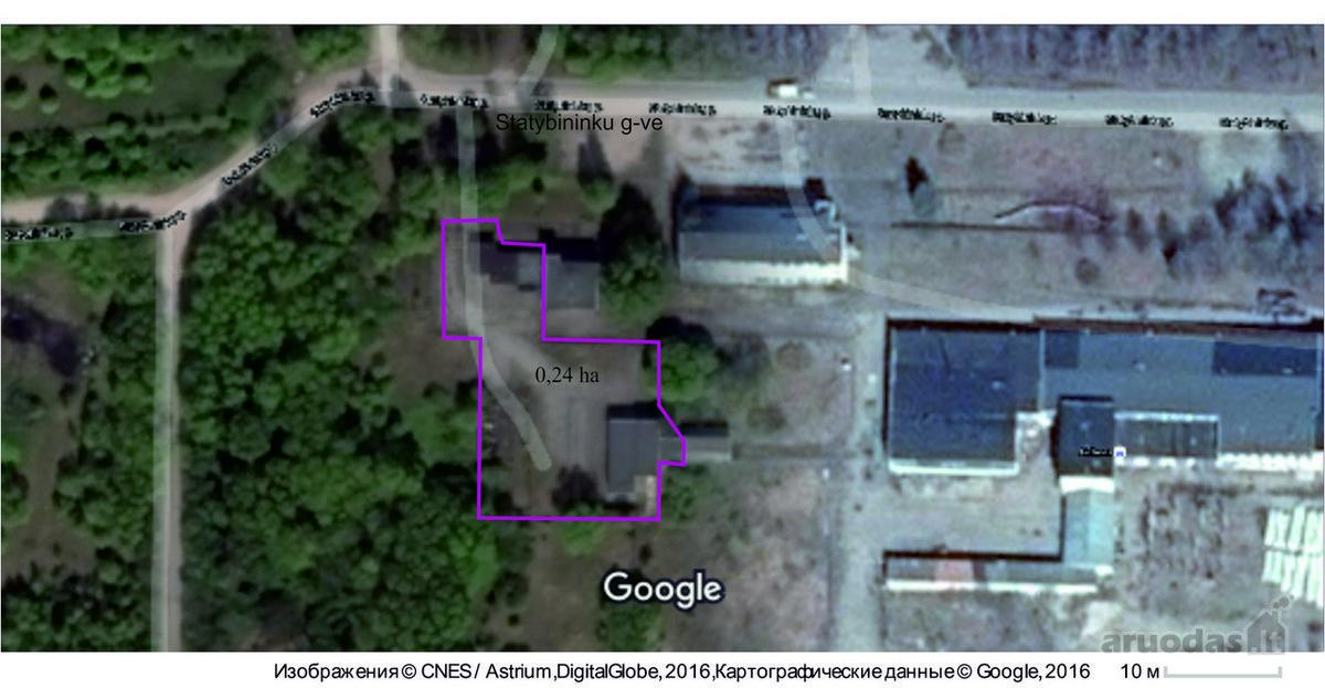 Klaipėdos r. sav., Gargždų m., Statybininkų g., biuro, sandėliavimo, gamybinės paskirties patalpos