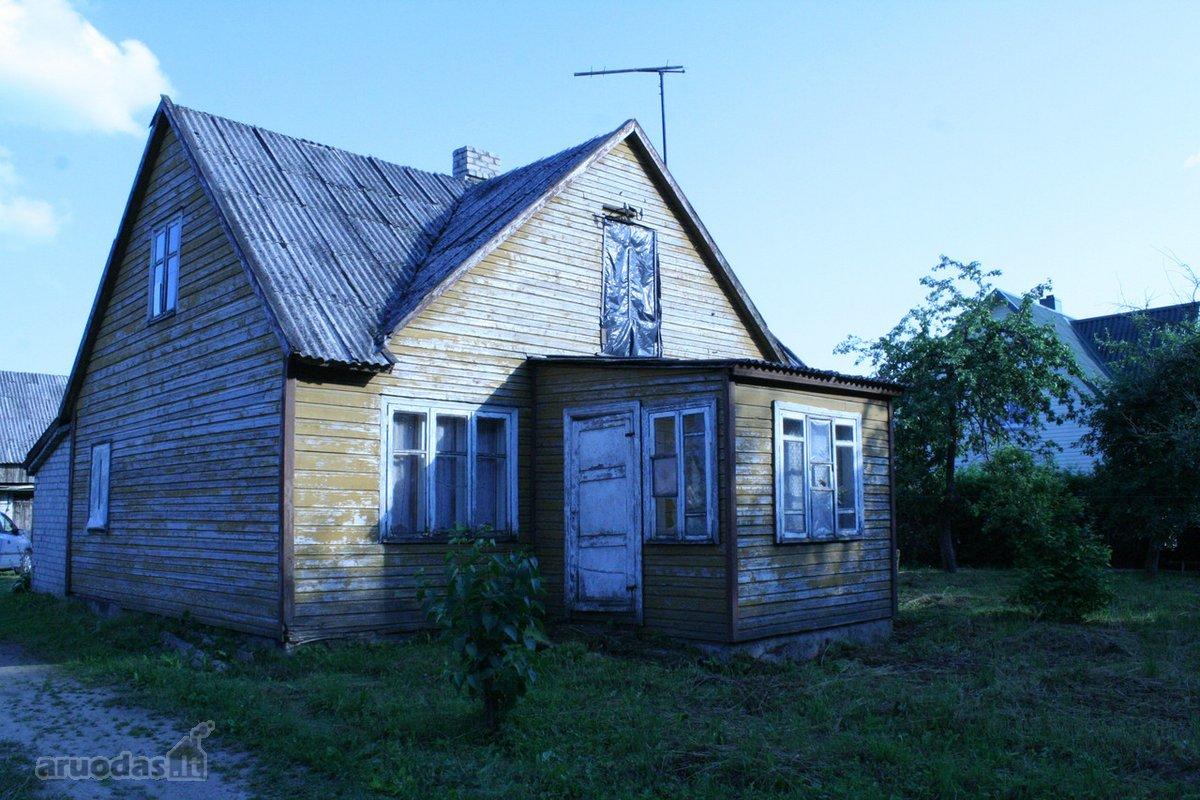 Šilalės r. sav., Šilų k., Ašučio g., medinis namas