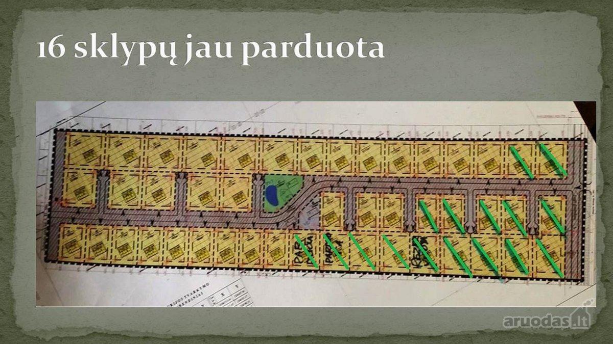 Klaipėdos r. sav., Radailių k., namų valdos paskirties sklypas