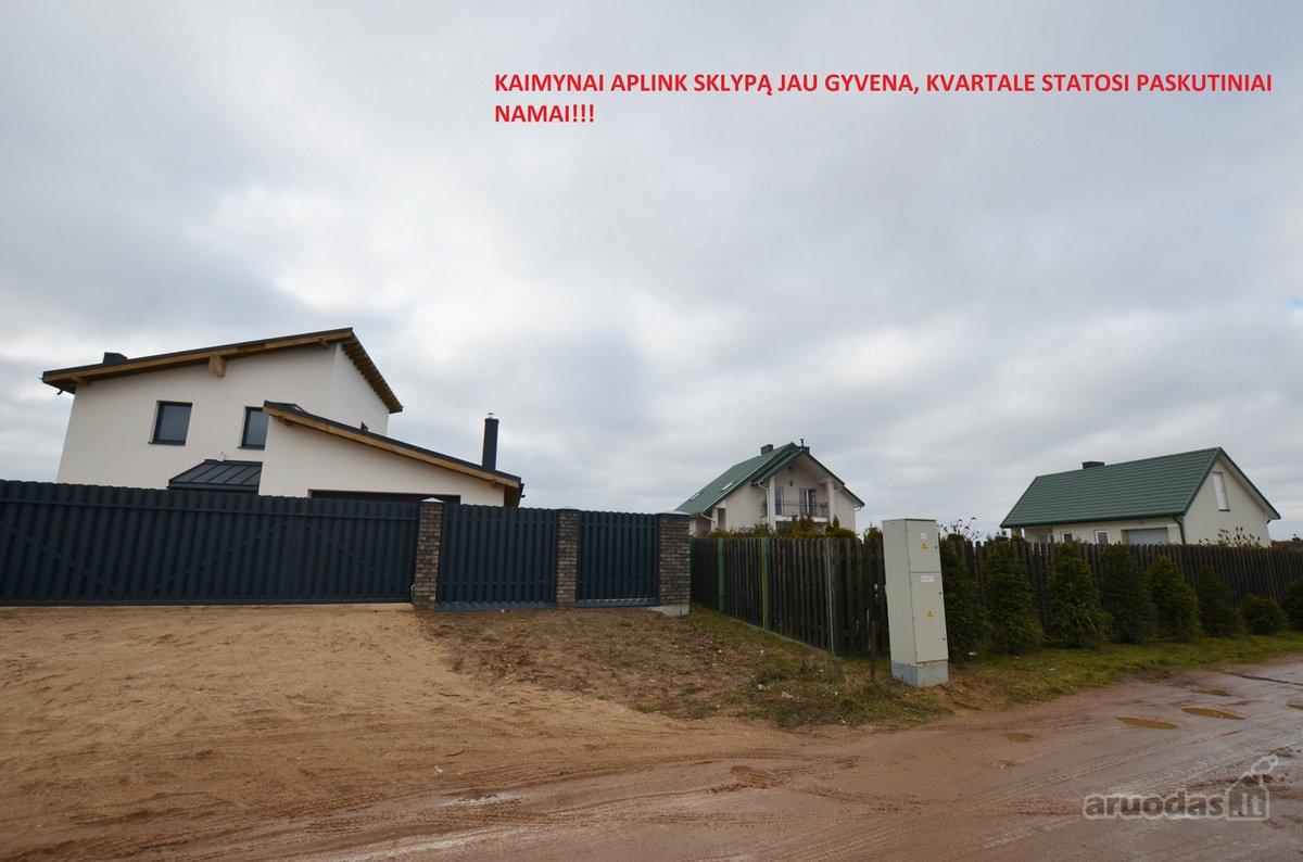 Vilniaus r. sav., Papiškių k., Žebronių g., namų valdos paskirties sklypas