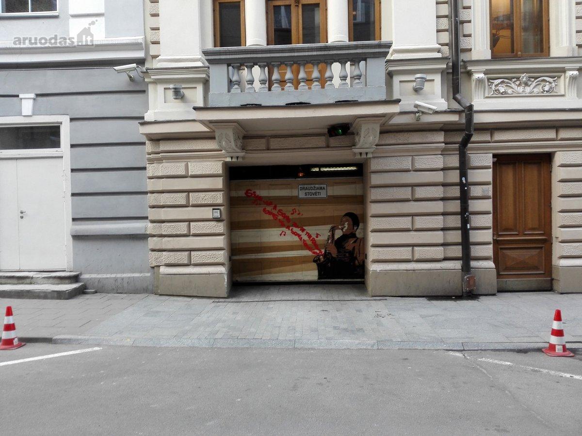 Vilnius, Senamiestis, Vilniaus g., požeminis garažo nuoma