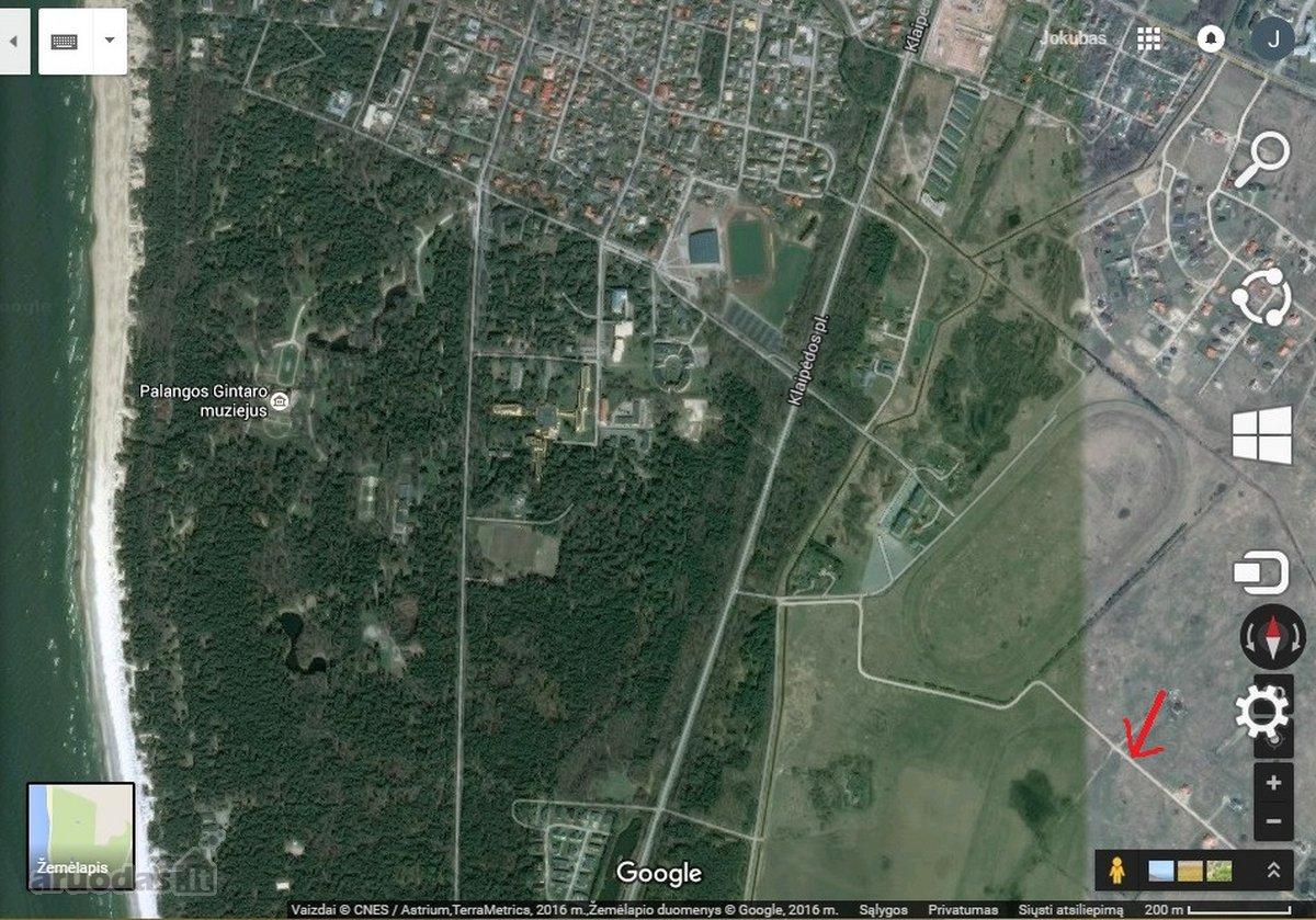 Palanga, Vilimiškės kelias, namų valdos paskirties sklypas