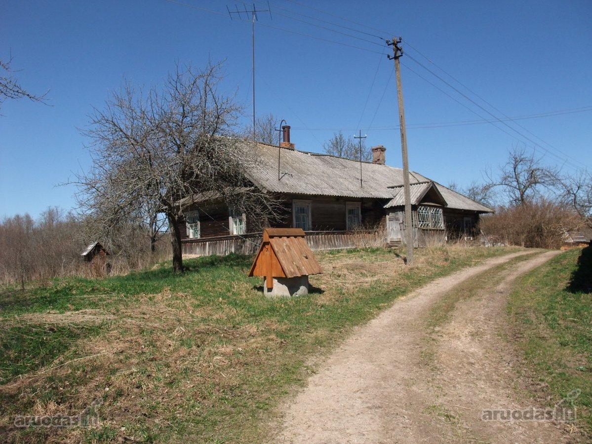 Ignalinos r. sav., Sviliškės k., medinė sodyba