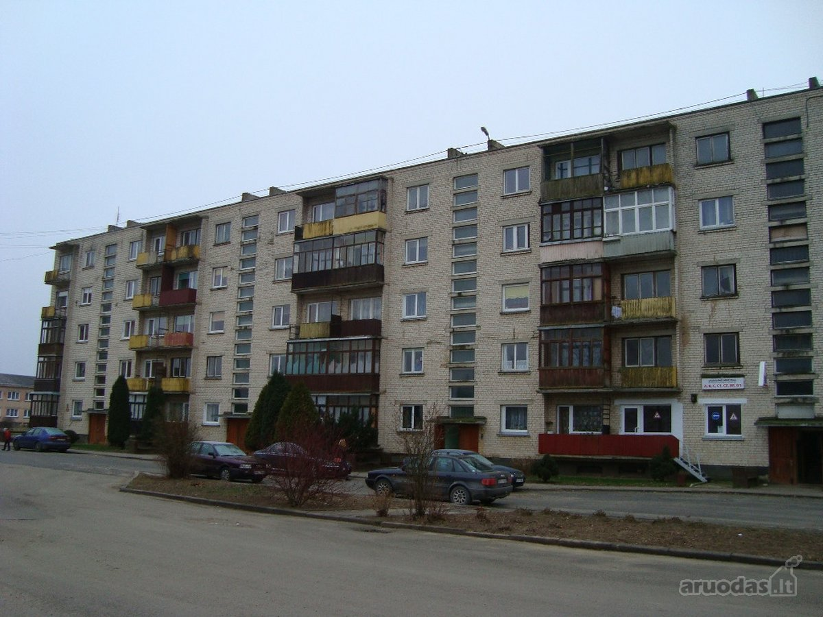 Akmenės r. sav., Ventos m., Bausko g., 1 kambario butas