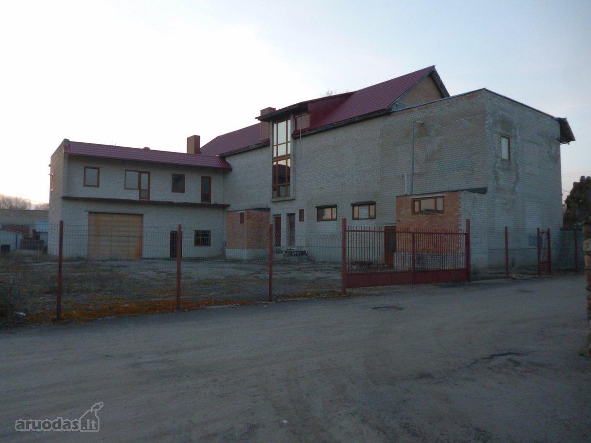 Trakų r. sav., Lentvario m., Vilniaus g., biuro, prekybinės, maitinimo paskirties patalpos