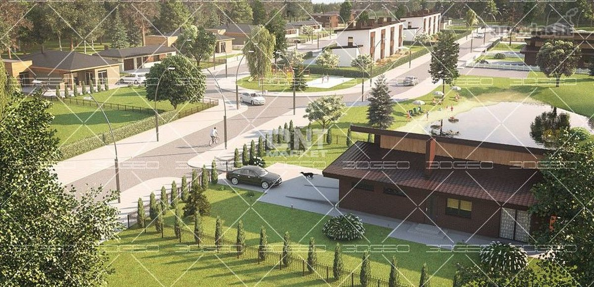 Klaipėdos r. sav., Trušelių k., mūrinis sublokuotas namas