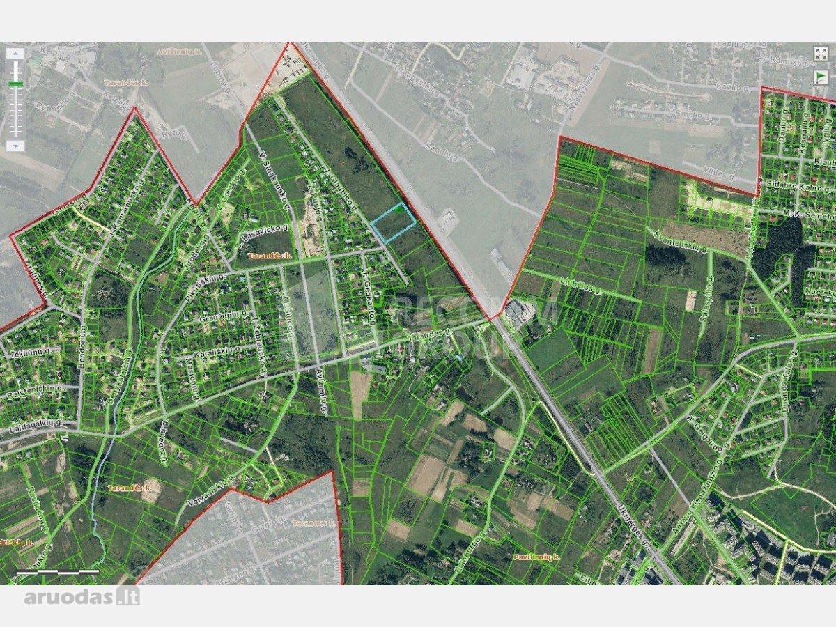 Vilnius, Tarandė, Ukmergės g., komercinės paskirties sklypas