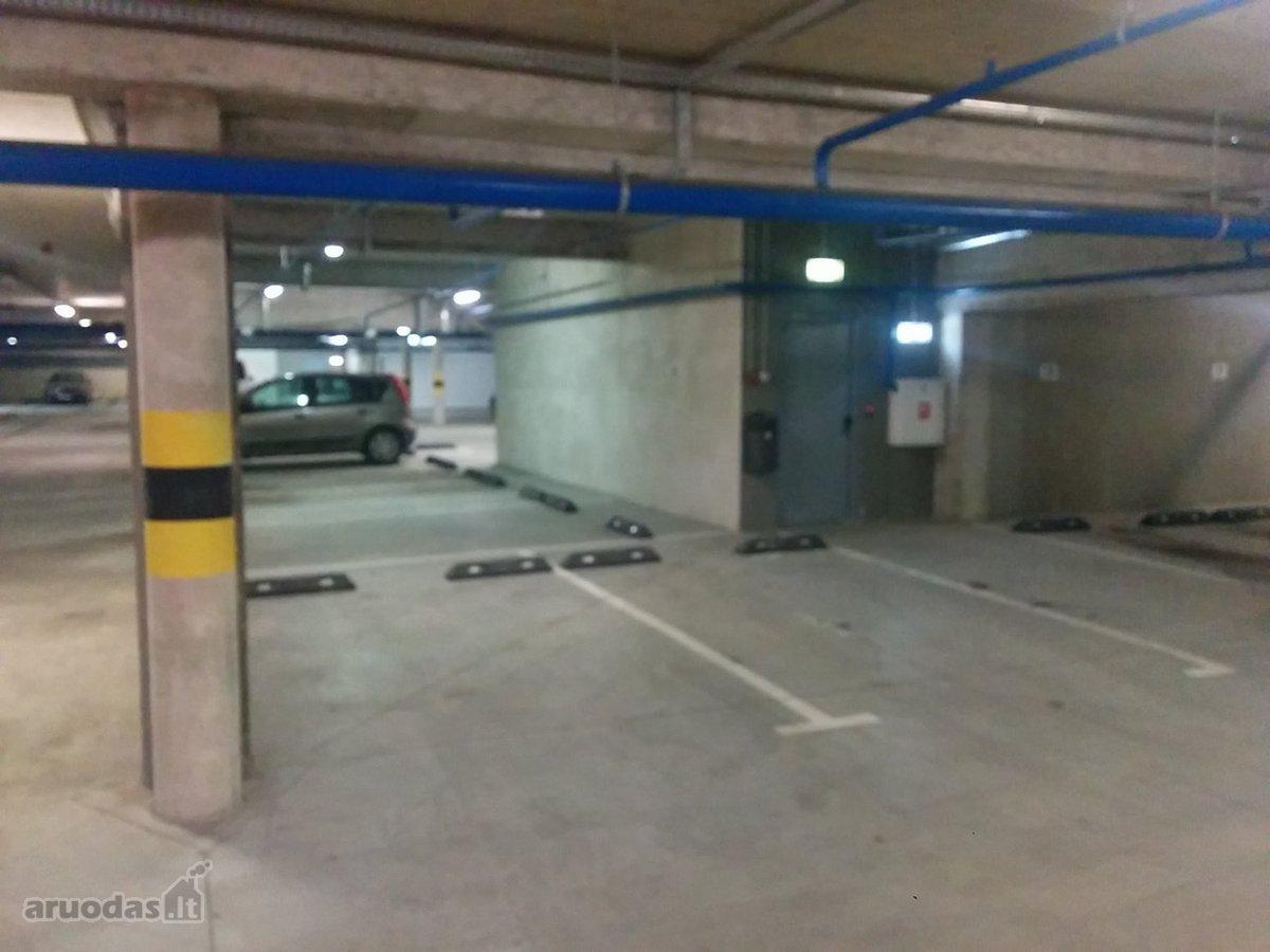 Vilnius, Šnipiškės, Olimpiečių g., požeminis garažo nuoma