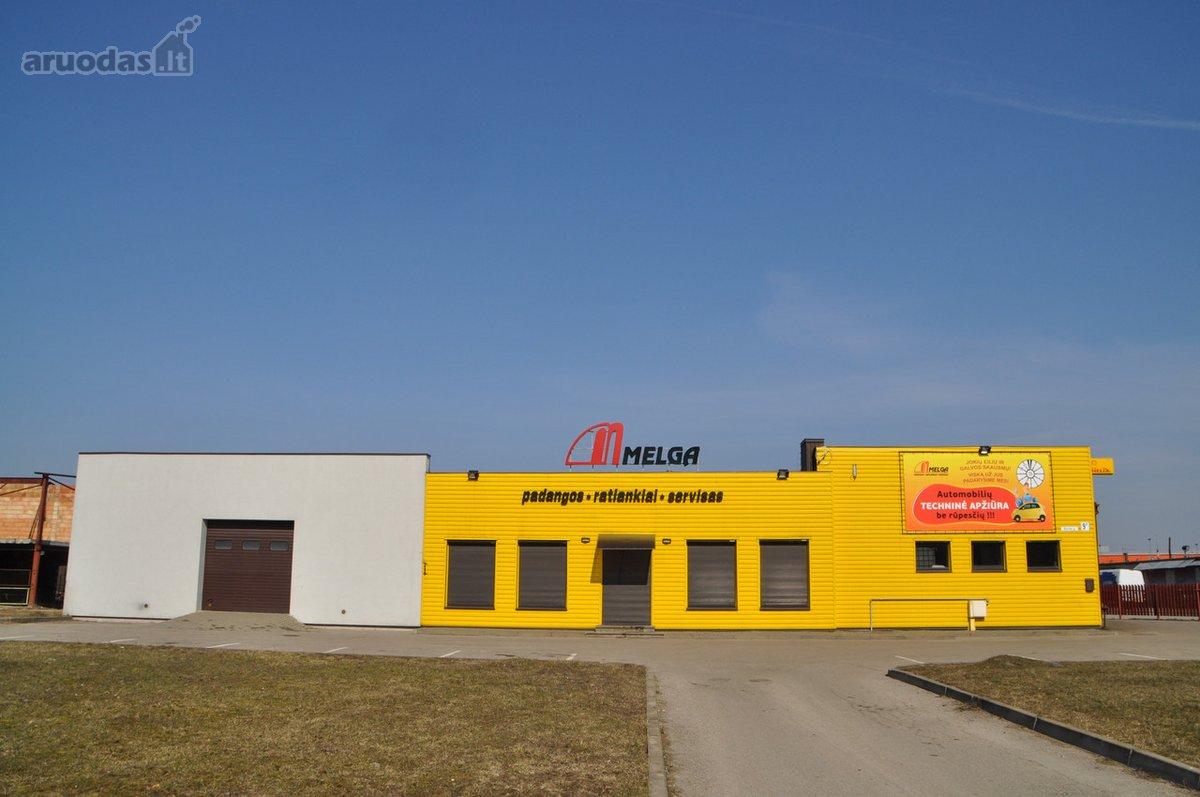 Kaunas, Šilainiai, Kuršių g., biuro, prekybinės, paslaugų, sandėliavimo, gamybinės paskirties patalpos