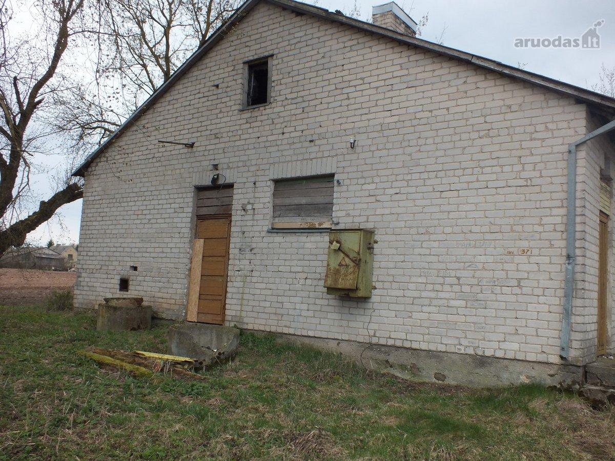 Panevėžio r. sav., Aukštadvario k., mūrinis namas