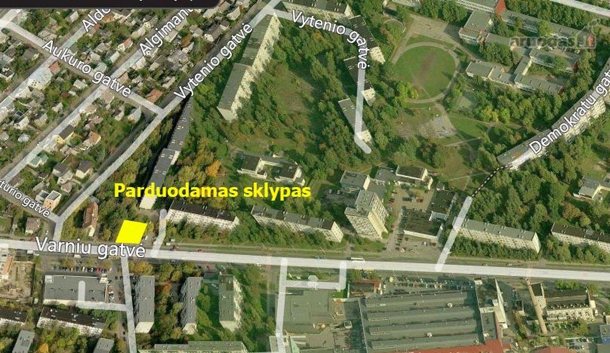 Kaunas, Vilijampolė, Varnių g., komercinės paskirties sklypas