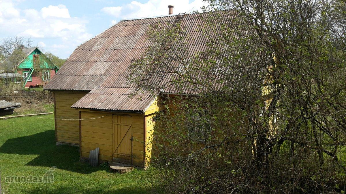 Ignalinos r. sav., Šiliniškių k., medinė sodyba