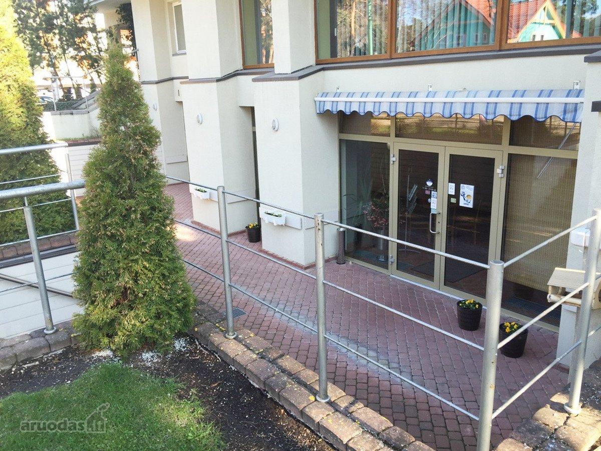 Palanga, S. Daukanto g., viešbučių, paslaugų paskirties patalpos